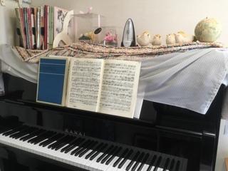 久し振りのピアノ