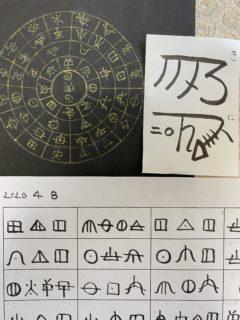 古代文字でお名前を書きました・youtube