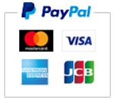 クレジット決済・PayPal分割払いについて